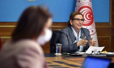 Bakan Pekcan, Avrupa Komisyonu'nun Komşuluk ve Genişlemeden Sorumlu Komiseri Olivér Várhelyi ile görüştü