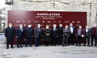 Bakan Selçuk, Darülaceze'nin Yeni Sosyal Hizmet Şehri Müzayedesine Katıldı