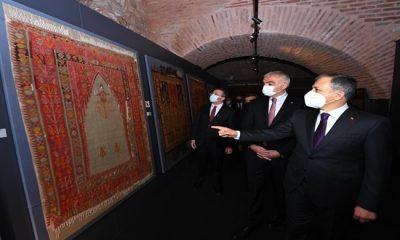 """Türk ve İslam Eserleri Müzesi'nde """"İnanç ve Sanat"""" Sergisi Ziyarete Açıldı"""