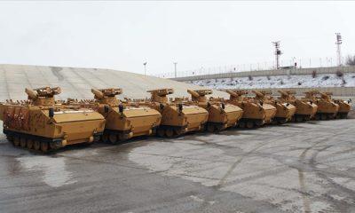 Kaplan Silah Taşıyıcı Araçlar İle Tanksavar Bölüklerinin Harekât Etkinliği Artırılıyor