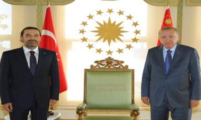 Cumhurbaşkanı Erdoğan, Saad Hariri'yi kabul etti