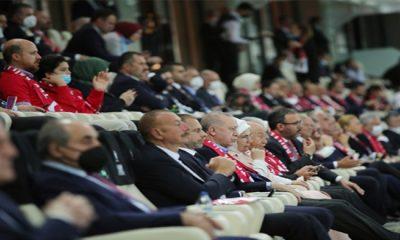 Cumhurbaşkanı Erdoğan, Türkiye-Galler maçını izledi