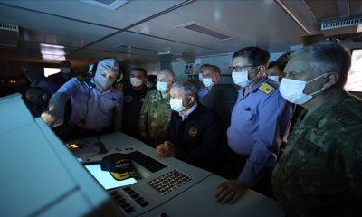 """Deniz Kuvvetlerinin """"Özel ve Anlamlı Günü"""": Atmaca Güdümlü Füzesi Su Üstü Hedefini Tam İsabetle Vurdu"""