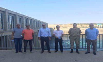Kaymakamımız Kadir Duman, Birecik Barajı ve HES İşletme Müdürlüğünü ziyaret etti