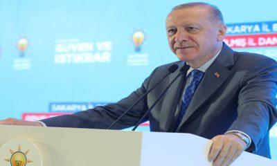 """""""İHRACATTA, ÜRETİMDE, SANAYİDE REKORLAR KIRIYORUZ"""""""