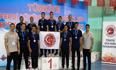 TSK Spor Gücü, Türkiye Kick Boks Şampiyonası'nda Önemli Başarılar Elde Etti