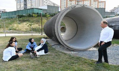 Türkiye'de ilk olma özelliği taşıyan Su Park Müzesi'nin çalışmaları tüm hızıyla devam ediyor