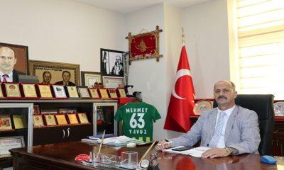 Başkan Mehmet Yavuz'dan Yasin Börü mesajı