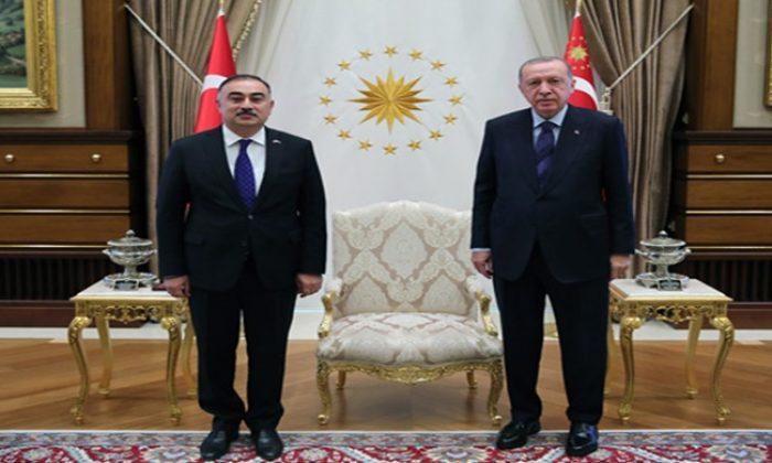 Azerbaycan büyükelçisinden güven mektubu