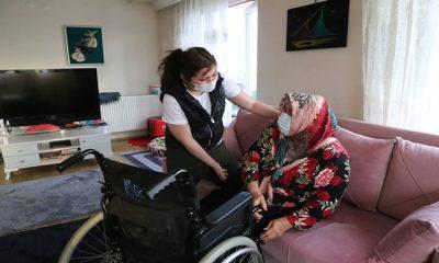 Evde Bakım Yardımı Kapsamında 60 Yaş Ve Üzeri 132 Bin Yaşlıya Destek Verildi