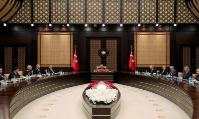 Savunma Sanayii İcra Komitesi, Cumhurbaşkanı Erdoğan başkanlığında toplandı