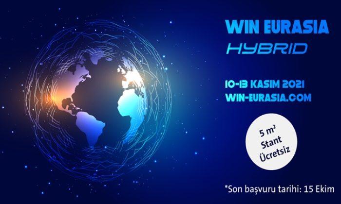 WIN EURASIA, 10 – 13 Kasım 2021 / Tüyap Fuar ve Kongre Merkezi